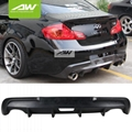 Infiniti G37 09-13 Body Kits Rear bumper Car modification