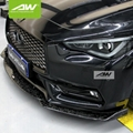 Infiniti Q60 2017 carbon fibre lip chin Car modification Body Kits