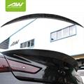 英菲尼迪 Q60 锻造纹 碳纤维 尾翼 改装升级套件