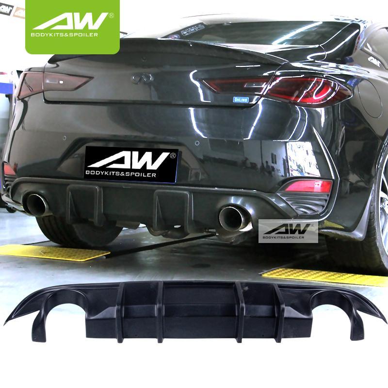 Car modification Infindini Q60  Auto Front Lip  Body Kits 1