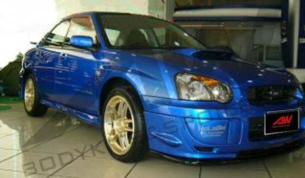 Subaru double PU spoiler 2