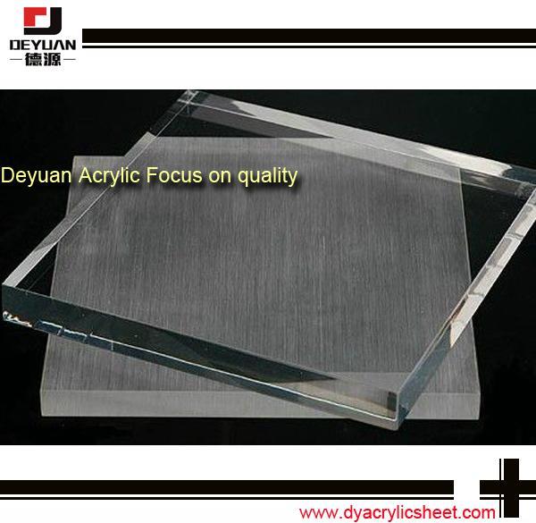 Pmma plastic acrylic sheet  table top 4