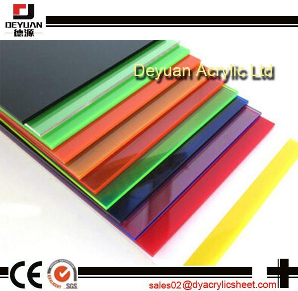 Pmma plastic acrylic sheet  table top 5