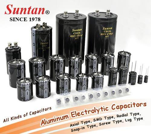 TS13D CD110X Aluminum Electrolytic Capacitors - Radial Type 1uF 10V 1