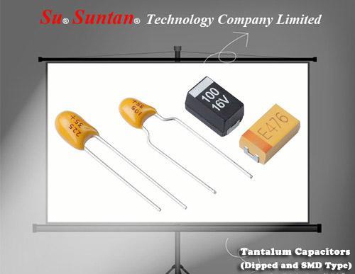 Chip Tantalum Capacitors - SMD 1uF 16V +/-10%  2