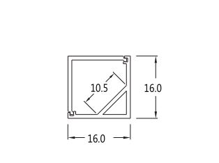 square led aluminium profile for led strip 2