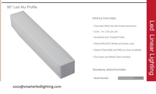 square led aluminium profile for led strip 3