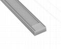 slim led aluminum extrusion for housing