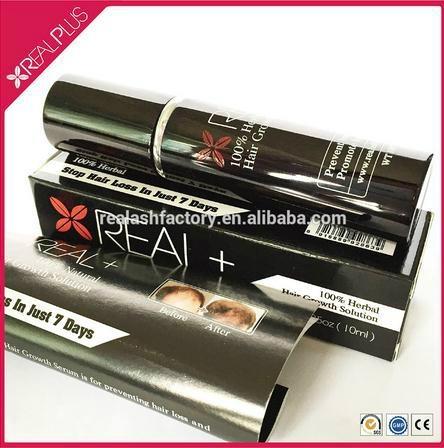 Real Plus ODM or OEM hair growth thickening organic hair spray 1