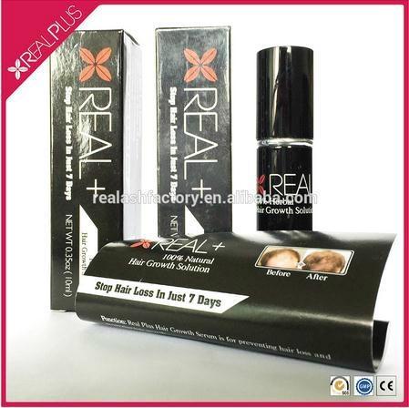 Hair loss treatment extra strong fast growth 10ml Real Plus hair growth spray 1