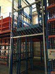 導軌式液壓自動昇降貨梯