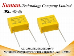 Metallized Polypropylene Film Capacitor - X2 - 310VAC