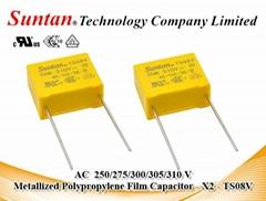 Metallized Polypropylene Film Capacitor - X2 - 310VAC