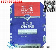 Ceramic tile glue valve