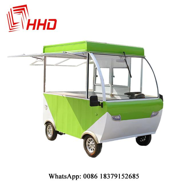 electric mobile heated food carts food trucks with ovens 2