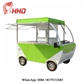 electric mobile heated food carts food trucks with ovens 3