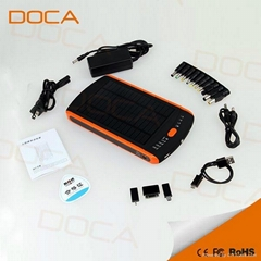 23000mAh solar charger for laptop