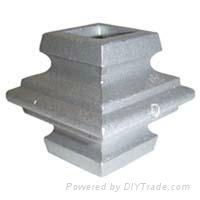 Customized aluminum die casting fence
