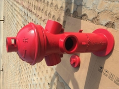SS100/65 KWS65  Iron casting outdoor fire hydrant DN65 DN80