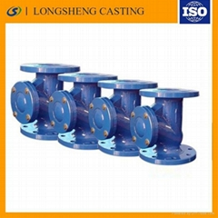 Cast iron Duckbill pipe flange Duckbill pipe flange