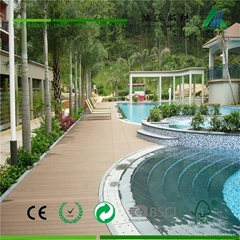 park waterproof wood plastic composite wpc deck flooring tiles from china park w