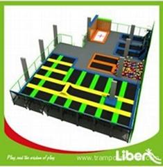 Big Indoor Trampoline Basketball Courts for Sale