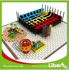 Free Design Project Indoor Trampoline Basketball Court for Children