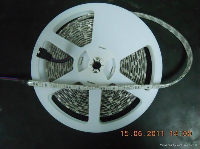 供應5050白光LED軟燈條/60燈1米IP65防水 3