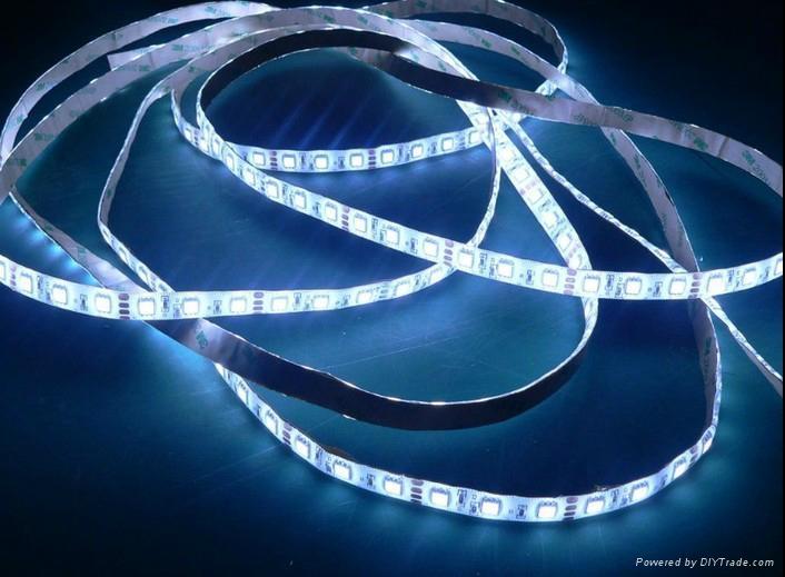 供應5050白光LED軟燈條/60燈1米IP65防水 1