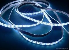 供应5050白光LED软灯条/60灯1米IP65防水