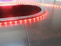 供應LED5050紅光軟燈條 60燈燈/米 IP65防水12V 5