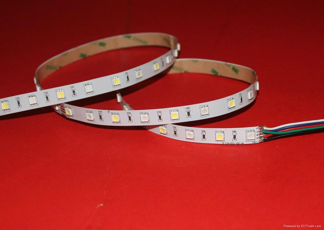 供銷5050LED軟燈條白光12V 60米/米 4