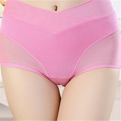 Breathable seamless underwear Physiological pants leak-proof women panties high