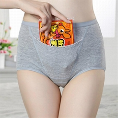 Special design panties with pocket for tummy warm women Period time adult waterp