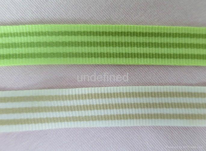 厂家直销 渐变色涤纶间色带 3