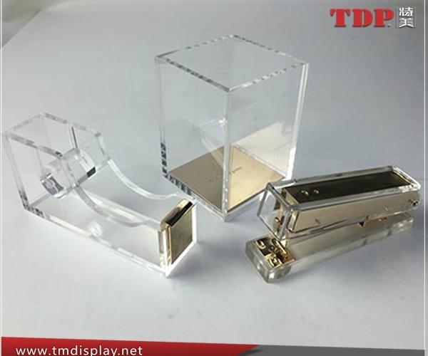 China Factory Wholesale Acrylic Stapler Office Stapler 1
