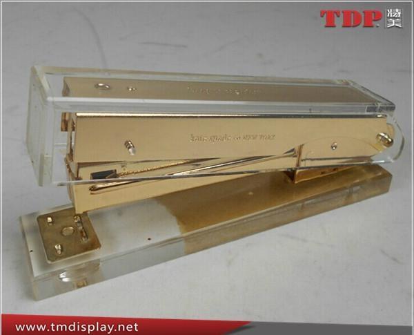 China Factory Wholesale Acrylic Stapler Office Stapler 3