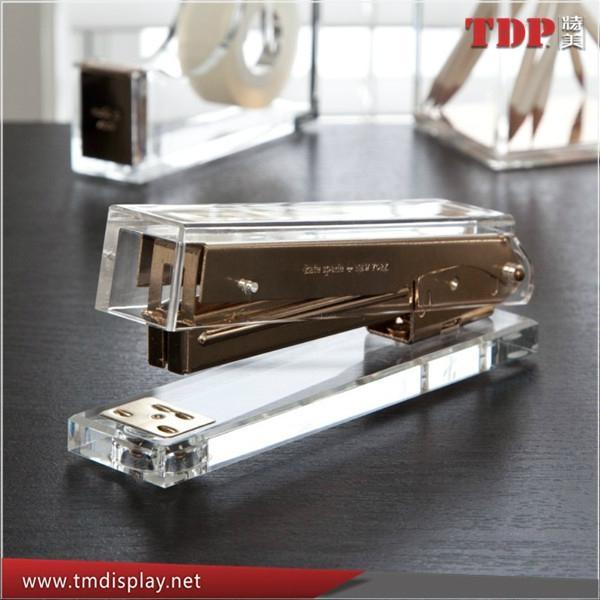 China Factory Wholesale Acrylic Stapler Office Stapler 4
