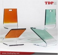 Colorful Plastic Furniture Dinning Chair Plexiglass Chair