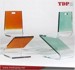 Colorful Plastic Furniture Dinning Chair Plexiglass Chair