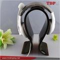 Acrylic Headphone Display Stand Black Plexiglass Heaphone Display