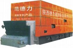 范德力兰炭链条环保节能微排放锅炉