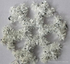 Tinsel Garland Christmas Decoration