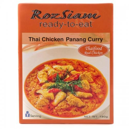 ROZSIAM THAI CHICKEN PANANG CURRY 180 G 1
