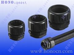 上海煥諾電氣HONO尼龍擰緊式軟管直接頭