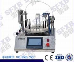 臺式微量液體試劑灌裝壓塞一體機