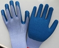 work safety  latex coated gloves  3