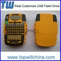 Custom PVC USB Thumb Drive 2GB 4GB 8GB