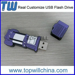Company Own Unique Design PVC Pen Drives USB Flash 2GB 4GB 8GB 16GB Free Design