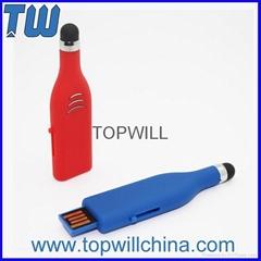 Plastic Stylus Pen Thumb Drives for Mobile Cell Phone